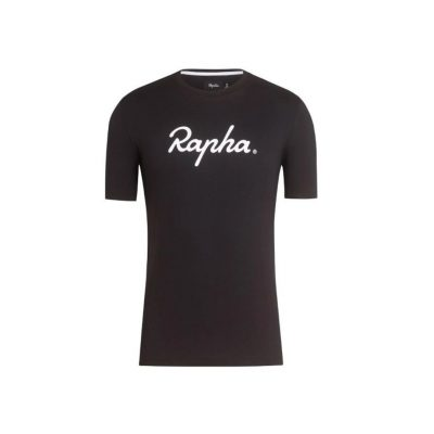 7794eb723 RAPHA LOGO T-SHIRT – BLACK