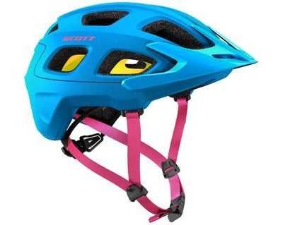 scott vivo plus mips helmet blue